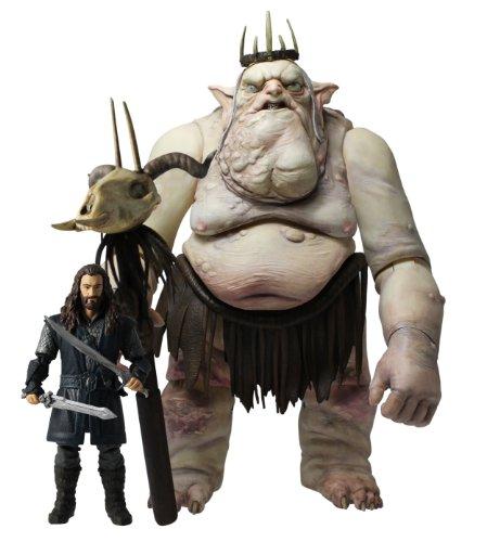 The Hobbit - Juego de muñecos de Thorin Oakenshield y el Rey Goblin 1