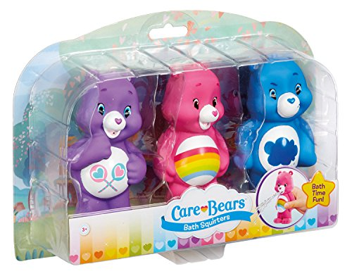 Image of Vivid Imaginations JP43087.4300 Care Bears Bath Squirter (Pack of 3)