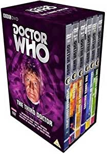 Doctor Who : Jon Pertwee - Limited Edition 7 Disc Box Set (Exclusive To Amazon.co.uk) [DVD] [1963]