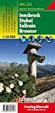 Freytag Berndt Wanderkarten, WK 241, Innsbruck - Stubai - Sellrain - Brenner - Maßstab 1:50 000 (freytag & berndt Wander-Rad-Freizeitkarten)