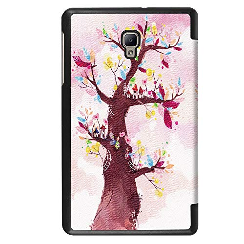 QinMM Premium Hülle für Samsung Galaxy Tab A 8.0 2017 T380 T385 Tablet, robuste, Kratzfeste Smart Cover Hülle -