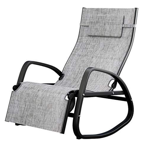 Silla Mecedora Siesta para Adultos Silla reclinable Balcón Lazy Ratta