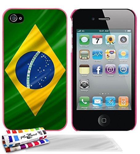carcasa-rigida-ultra-slim-apple-iphone-4-de-exclusivo-motivo-de-brasil-bandera-rosa-caramelo-de-muzz