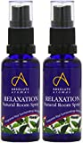 (2 Pack) - Absolute Aromas - Relaxation Natural Room Spray | 30ml | 2 PACK BUNDLE