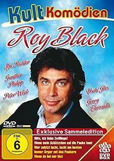 Kultkomödien mit Roy Black - 5DVD-Sammeledition (Hilfe, ich liebe Zwillinge; Wenn mein Schätzchen auf die Pauke haut; Wer zulet
