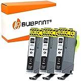 Bubprint 3 Druckerpatronen kompatibel für HP 364XL 364 XL für DeskJet 3070A OfficeJet 4620 PhotoSmart 5525 6510 7520 e-All-in-One Plus B209A Black