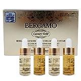 2Set [Bergamo] Premium Luxury oro Colágeno Caviar ampolla Set 13ml x 4ea Antienvejecimiento