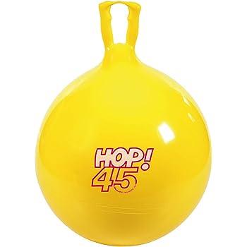 Gymnic - 80.45 - Ballon Sauteur - Hop 45 en jaune