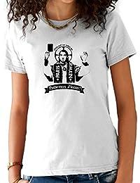 T-Shirt Femme ZLATAN IBRAHIMOVIC Blanc
