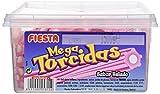 FIESTA Megatorcidas - Regaliz dulce - Sabor helado - 60 unidades
