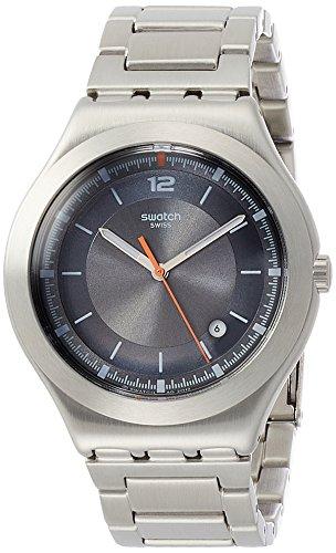 Swatch Orologio Analogico Quarzo Uomo con Cinturino in Acciaio Inox YWS425G