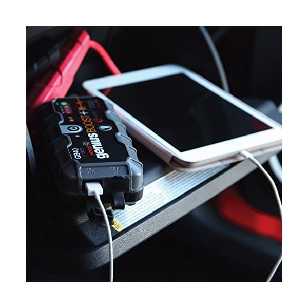 NOCO Genius Cargador Inteligente de Batería 12V Lithium