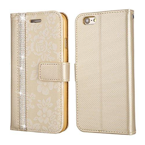 custodia a portafoglio i iphone 6s oro