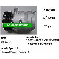 Gowe AC auto compressore per auto compressore compressore compressore AC V5 per Daewoo Chevrolet 96405817   Eleganti    Trendy    2019 Nuovo  ff43ca