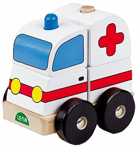 Spielzeugautos & Zubehör NimNik Holzspielzeug Autos Bus Motor Notfall Fahrzeuge Pädagogisches Spielzeug