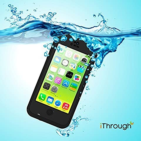 iPhone 5C Etui Imperméable, iThrough™ iPhone 5C Etui Imperméable, Antipoussière,Anti-neige,