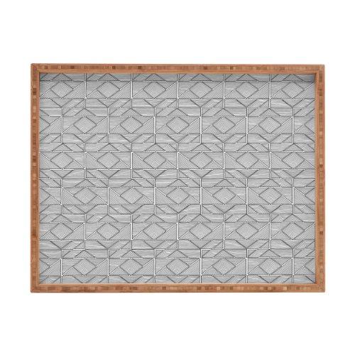 DENY Designs gneural Shifting-Pyramiden Tablett rechteckig, 17x 22,5
