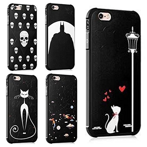 Iphone 6 case,Iphone 6S case,Koala Group painted cartoon/silicone anti-drop airbag Apple phone case for Iphone 6/6S (Star love) Star love