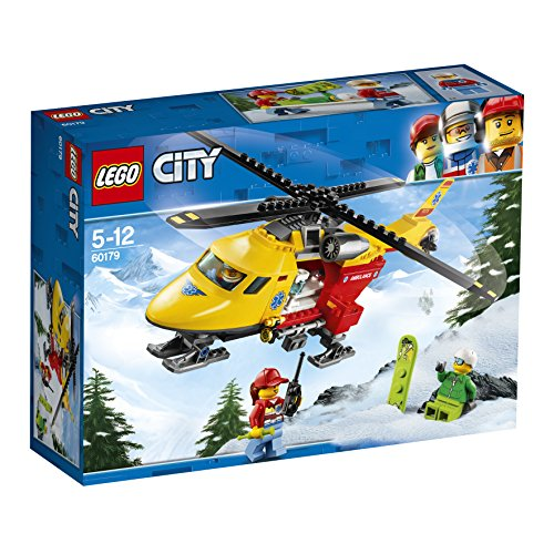 LEGO UK 60179 Ambulance Helicopter Building Block Best Price and Cheapest