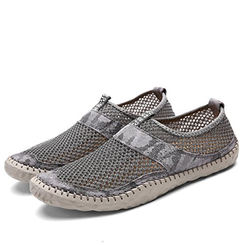 Miyoopark , Herren Aqua Schuhe Grau