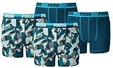 Puma Jungen Boxershort KIDS Limited Black Edition 4er Pack - blue power - Gr. 164