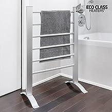 Thermic Dynamics Eco Class Toallero Eléctrico de Pared, Metal, Plateado, 55.5 x 91