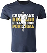 Cristiano Ronaldo Real Madrid T-Shirt (Navy) - Kids