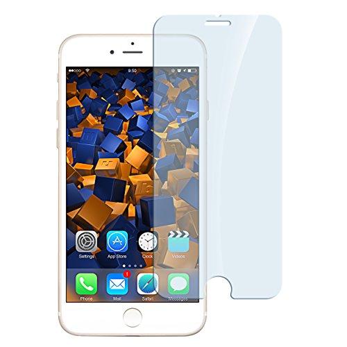 1 x mumbi ECO Panzerfolie für iPhone 8 / iPhone 7 Hartglas Glasfolie (bewusst kleiner als das Display, da dieses gewölbt ist)