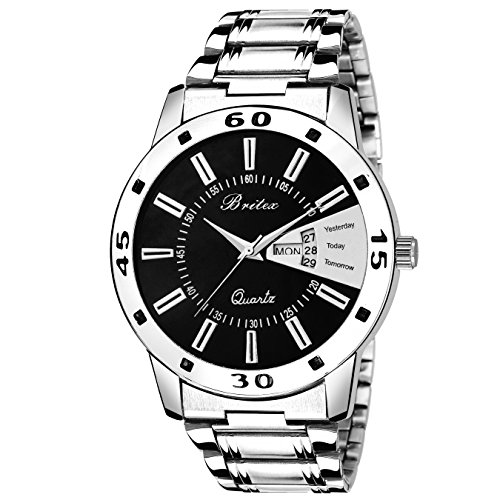 Britex Day and Date Functioning Series Analog Watch For Men/Boys - (BT6046)