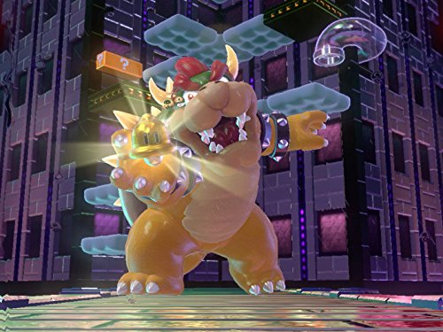 Princess Peach Confronts Bowser