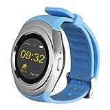 padgene Neue Bluetooth Smart Watch Telefon mit SIM Card Slot Kamera GSM Sportuhr Fitness Tracker Activity Tracker Smart Schrittzähler Armband-Armbanduhr Bluetooth für Android und IOS Smartphone