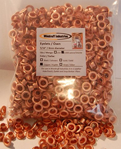 woodruff-industries-1000-pezzi-5-16-8mm-colore-rame-occhielli-metallici-per-larte-artigianato-scarpe