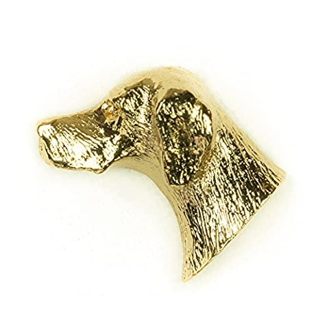 Pointer Anglais Made in UK, Collection Épingle Artistique Style Chien