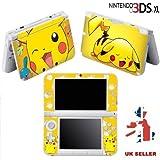 Folie aus Vinyl für Nintendo 3DS XL, Motiv: Pokémon Pikachu