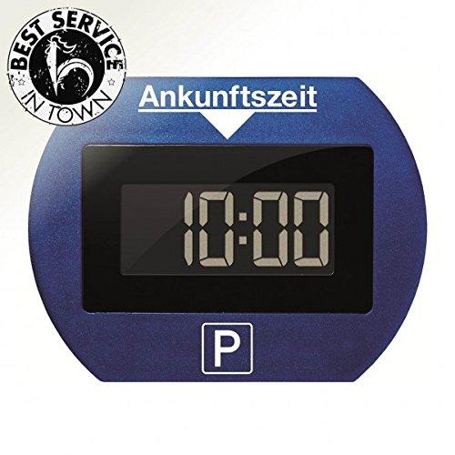 Preisvergleich Produktbild Digitale Parkscheibe elektronisch mit Zulassung (blau)