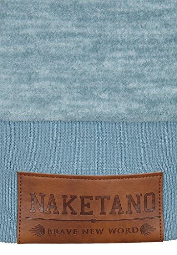 Naketano Female Zipped Jacket Gigi Meroni Dusty Blue Melange