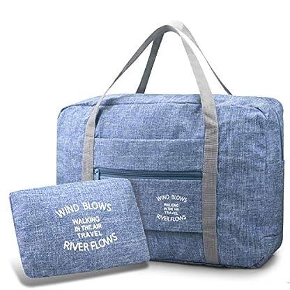 BAGZY-Faltbare-Reisetasche-Hand-Luggage-Cabin-Bag-Sporttasche-Koffer-Gepck-Handgepaeck-Tasche-Suitcase-Koffer-Organizer-Camping-Duffle-Bag-Strandbeutel-Aufbewahrung-Wochenendtasche-30L