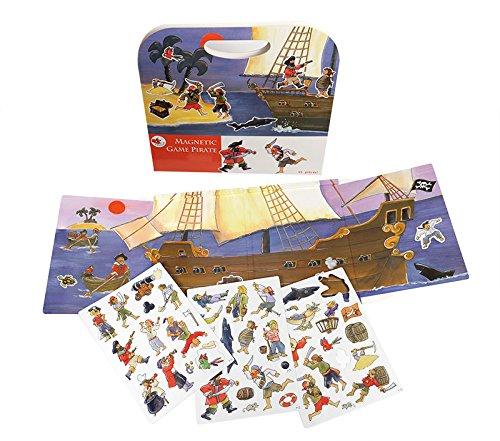 Egmont Toys-630660 Juego magnético de Piratas, Multicolor (630660)