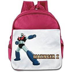 Mazinger Z japonés Super Robot manga Kid Classic bolsa para el almuerzo escuela bolsa