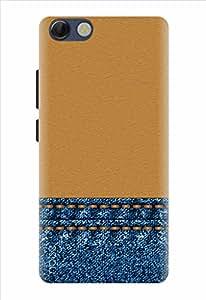 Noise Designer Printed Case / Cover for Panasonic P55 Novo / Patterns & Ethnic / Just Like Jeans Design