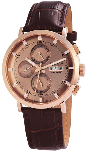 Engelhardt Men's Automatic Watch 7 388231529007 with Leather Strap