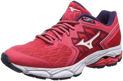 Mizuno Wave Ultima 10, Zapatillas de Running para Mujer, Rojo (Teaberry/White/Evening Blue 02), 38 EU