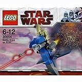 LEGO Star Wars 30004 Battle Droid on Stap / Kampfdoide auf Gleiter (Polybeutel)