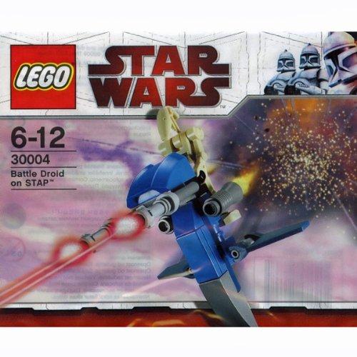 LEGO Star Wars 30004 Battle Droid on Stap / Kampfdoide auf Gleiter (Polybeutel) (Lego Star Wars Stap)