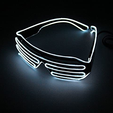 Argento HOT WIRE Neon Luce LED fino a forma di