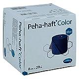 Peha Haft Color Fixierbinde latexf.8 cmx20 m blau 1 stk