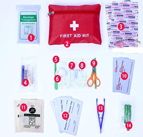 ZYT Al aire libre viajes kits terremoto emergencia botiquines set personal botiquín casero
