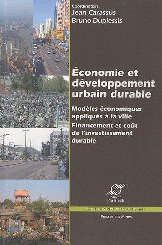 Économie et développement urbain durable: Modèl...
