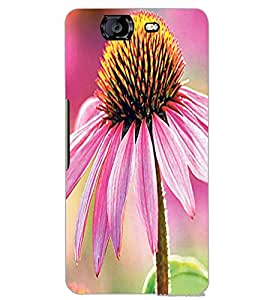 MICROMAX A350 CANVAS KNIGHT FLOWERS Back Cover by PRINTSWAG