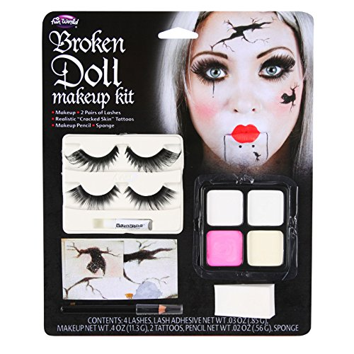 Gebrochene Puppe Halloween (Halloween Make Up Kits)